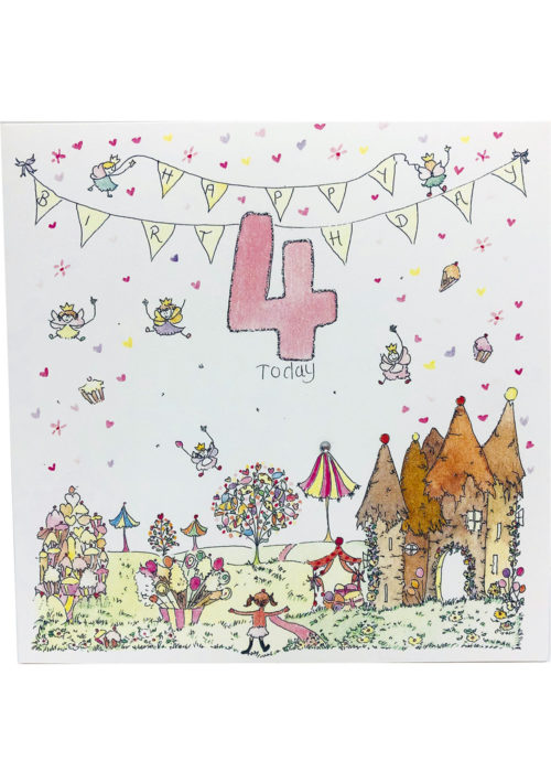 Birthday - Girl's Age 4.
