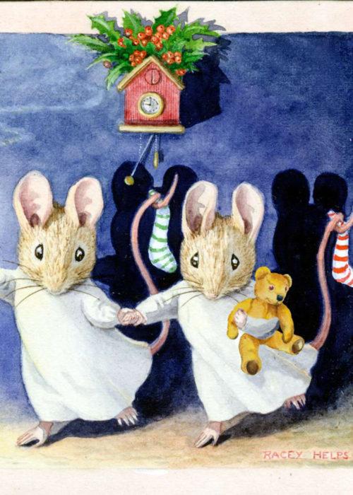 Racey Helps - Christmas Eve Two Mice.
