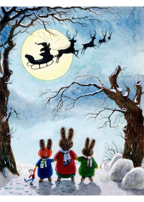 Racey Helps - Christmas Eve.