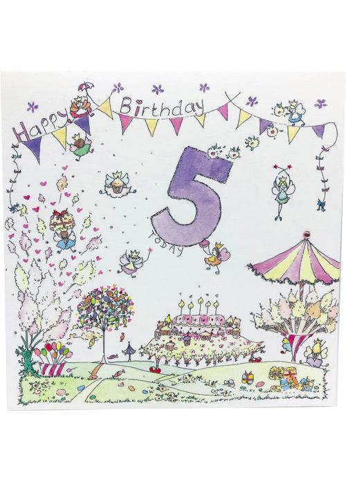 Birthday - Girl's Age 5.