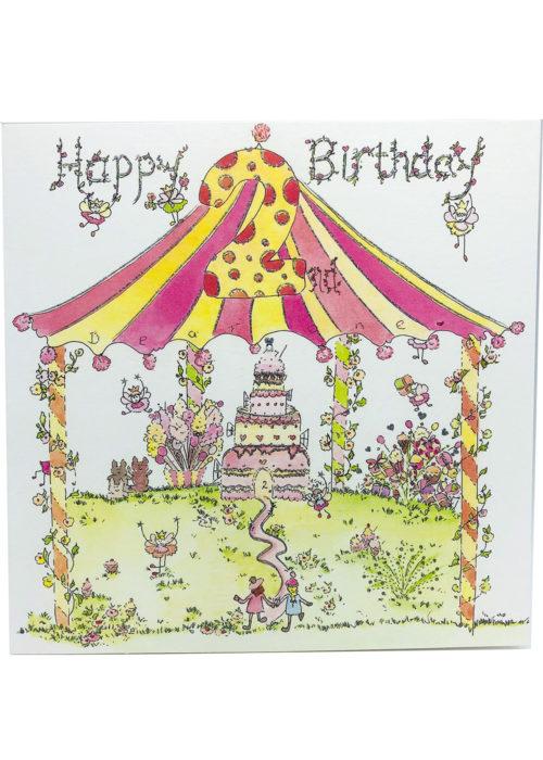 Birthday - Girl's Age 2.