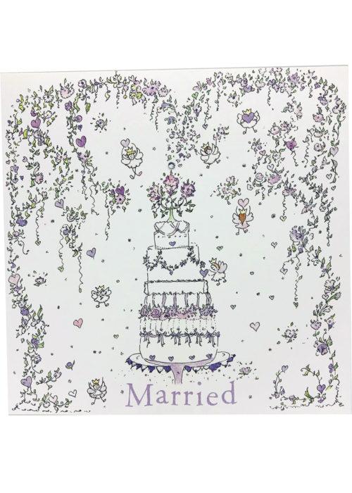 "Wedding - ""Married Cake""."