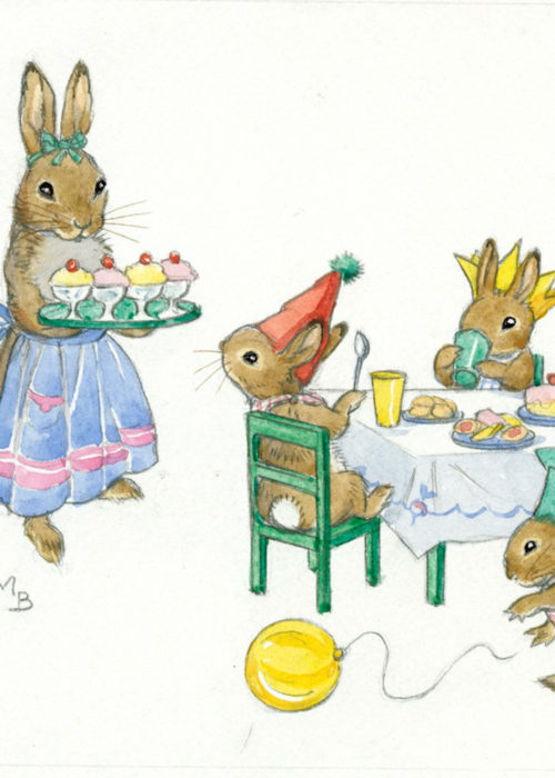 Molly Brett - Rabbit Tea Party.