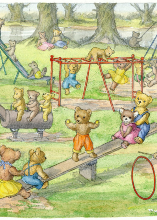 Molly Brett - Teddy Bears' Playtime.