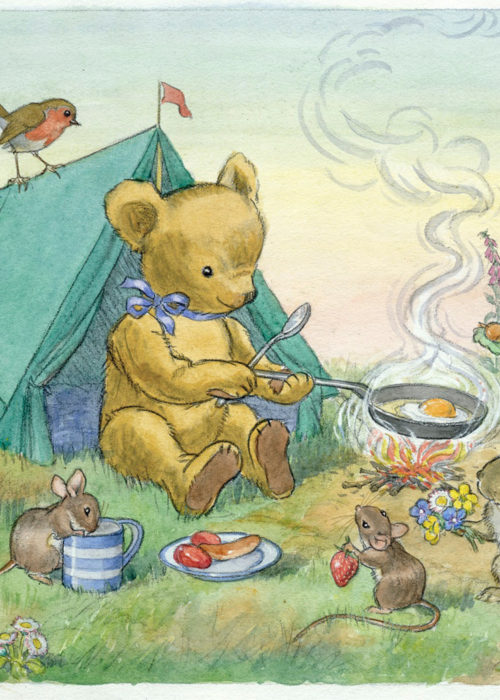 Molly Brett - Teddy's Tent.