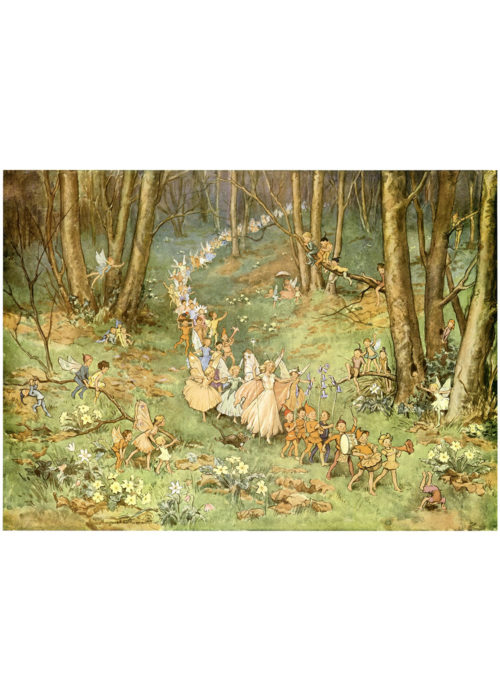 The Fairy Way - Margaret Tarrant.