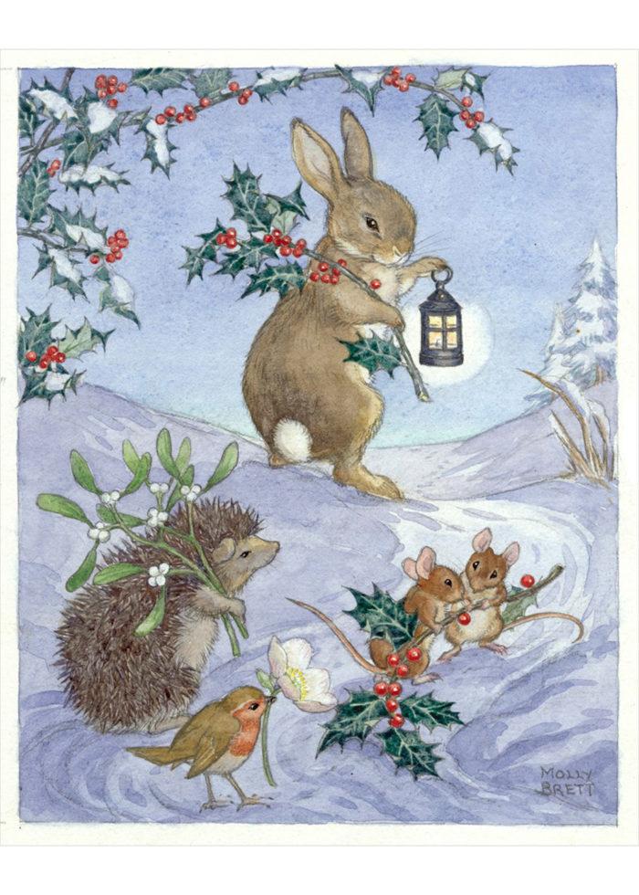 Molly Brett - Christmas Animals.