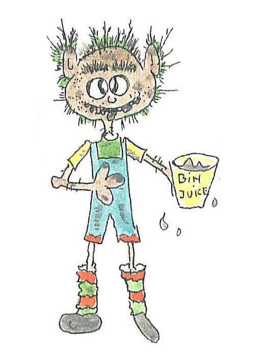 Mr Grob illustration.
