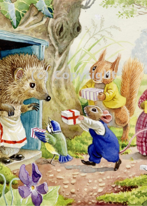 Racey Helps - Mrs Prickles' Birthday.