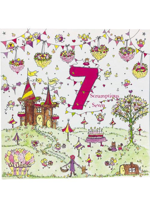 Birthday - Girl's Age 7.