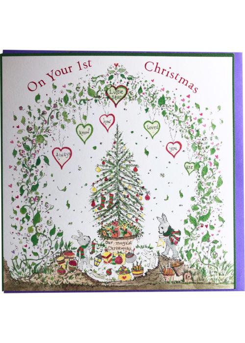 """Christmas - """"On your 1st Christmas."""""""