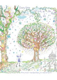 Limited Edition Illustration: 'Sky'.