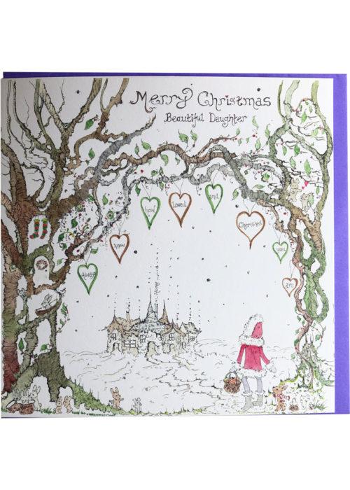"Christmas - ""Merry Christmas Beautiful Daughter."""