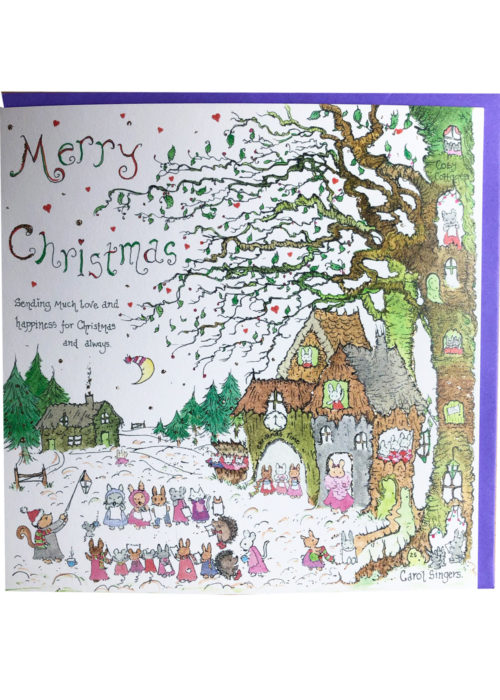 "Christmas - ""The Carol Singers""."