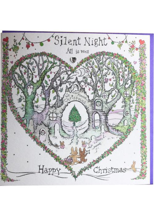 "Christmas - ""Silent Night""."