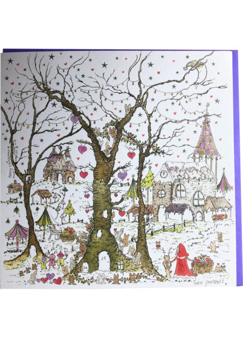 "Christmas - ""Tree Presents""."