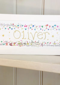 Personalised Name Plaque.