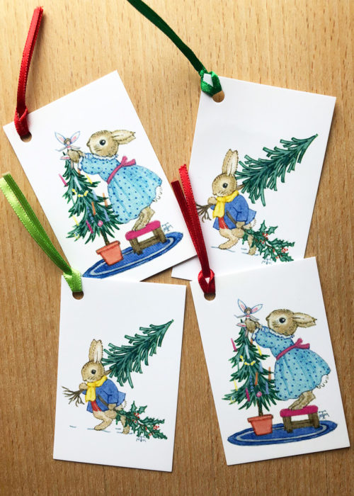 Margaret Tempest Gift Tags.