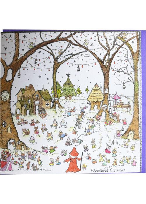 """Christmas - """"Woodland Christmas""""."""